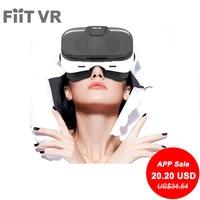 Fiit VR 2N 3D Glasses VR Virtual Reality Headsets VR Glass 120 FOV Video Google Glass Cardboard Helmet For 4 6' Smartphones