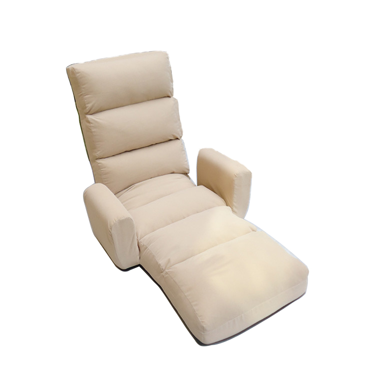 Foldable Chaise Lounge Armrest 6 Color Avaiable Contemporary Floor