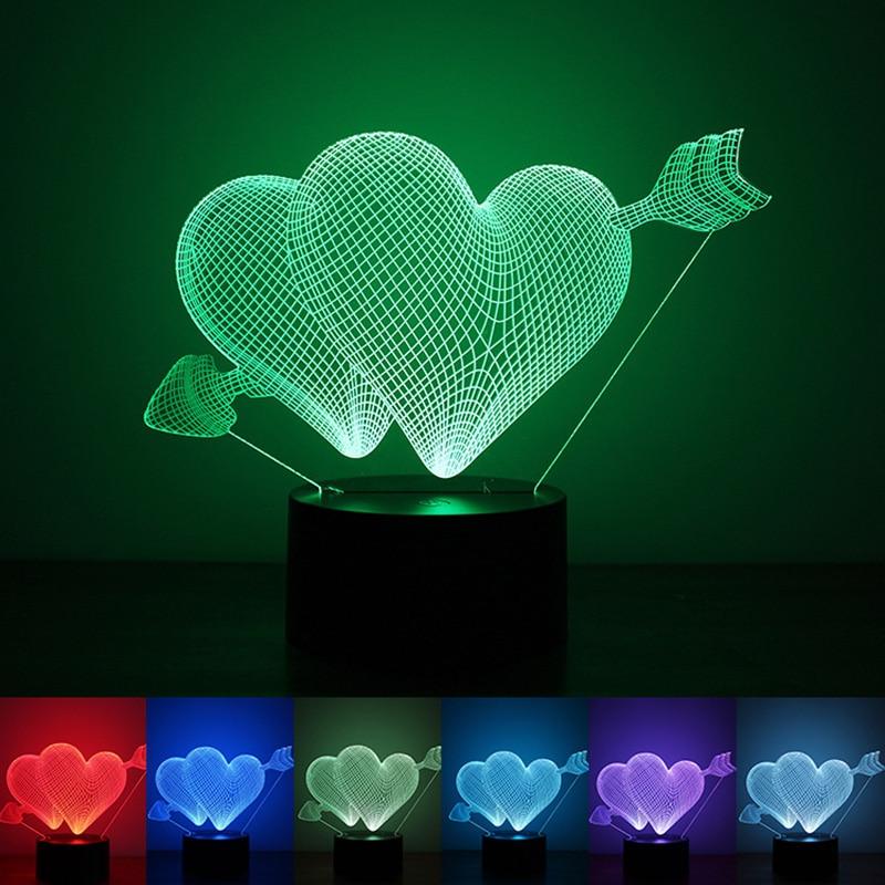 Luzes da Noite presente do dia dos namorados Utilização : Emergência