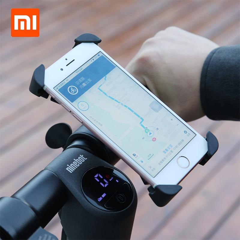 Xiaomi Segway-Ninebot Handlebar Phone GPS Holder for Motorcycle Bike Electric Scooter Mijia Ninebot 360 Rotation Stable