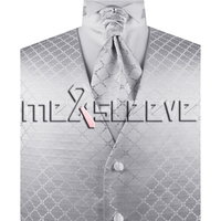Bán buôn Người Đàn Ông của Phù Hợp Với Tuxedo Ăn Mặc Vest và ascot tie Set NEW