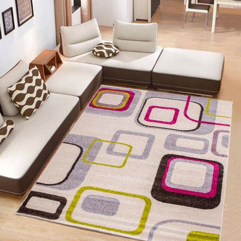 Современные Ковры 160x230 см большой Размеры Ковры пол Коврики для Гостиная Спальня Коврики Кофе Таблица толщиной Одеяло прямоугольник alfombras