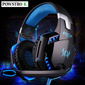 EACH G2000 Headband Gaming Headset 3.5mm Port Stereo Headphone Earphone with Mic Display LED Light for PC Game
