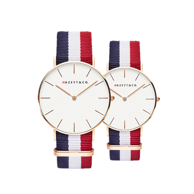 fashion lovers Bauhaus top brand casual simple design couple watch best gift for