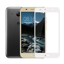 Y3 2017 CRO-U00 9H полное покрытие, закаленное стекло для Huawei Y3 2017 CRO-L22 L02 L03 L23 Y5 lite 2017, Защитная пленка для экрана, стекло