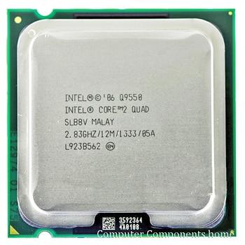 INTEL Q9550 INTEL core 2 quad  Q9550  Socket LGA 775 CPU Processor (2.83Ghz/ 12M /1333GHz) Desktop CPU free shipping