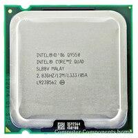Original Q9550 CPU Processor 2 83Ghz 12M 1333GHz Socket 775 Desktop CPU Free Shipping