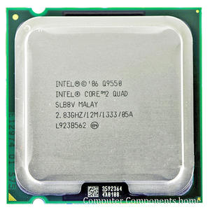 INTEL Q9550 (2.83 Ghz/12 M/1333 GHz) 2 quad Q9550 Socket LGA 775 CPU Processor