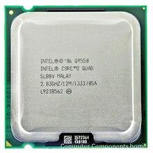 Процессор INTEL Q9550 INTEL core 2 quad Q9550 Socket LGA 775 cpu (2,83 ГГц/12 м/1333 ГГц) настольный процессор Бесплатная доставка