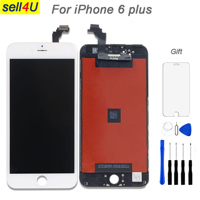 new concept 6902d bba88 Aliexpress.com : Buy For iPhone 6 plus LCD screen , lcd display with Touch  Digitizer screen assemble for iphone replacement replacement parts from ...
