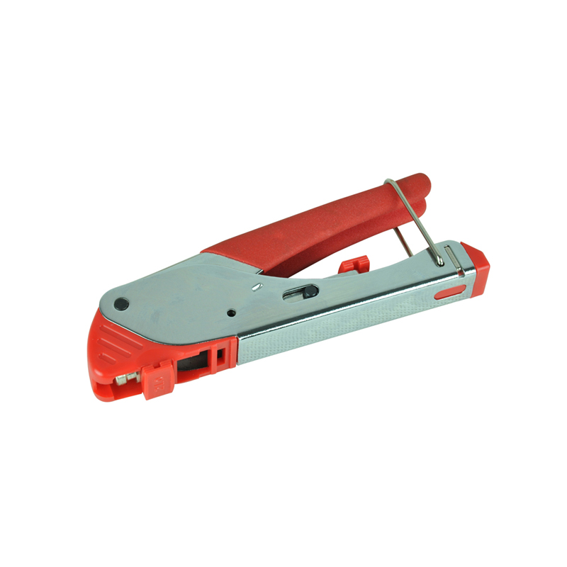 New Fashion Crimping Tool Connector Compression Tool Crimper for Coaxial RG6 RG59 F BNC RCA Coax Cable LS-H518E