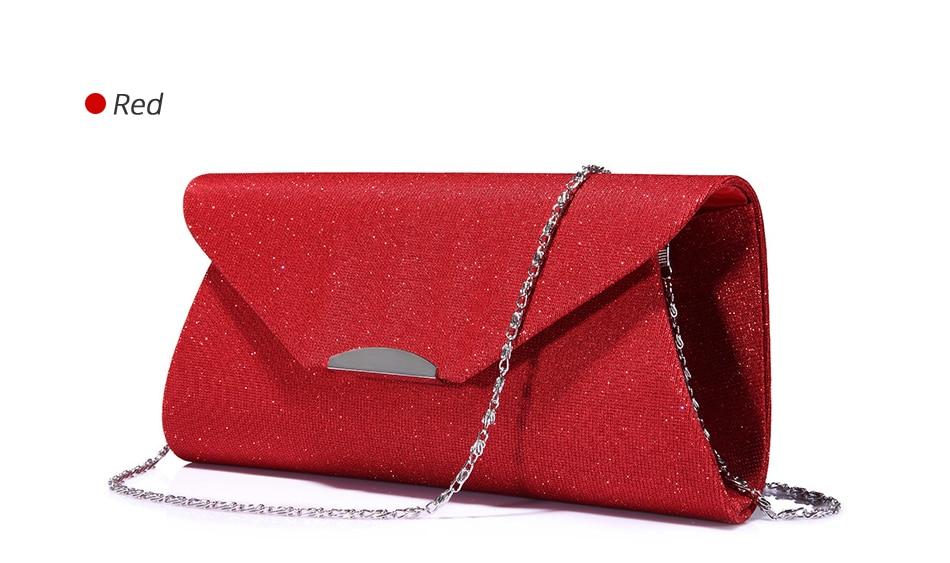 crossbody sacos senhoras envelope bolsa para festa com correntes