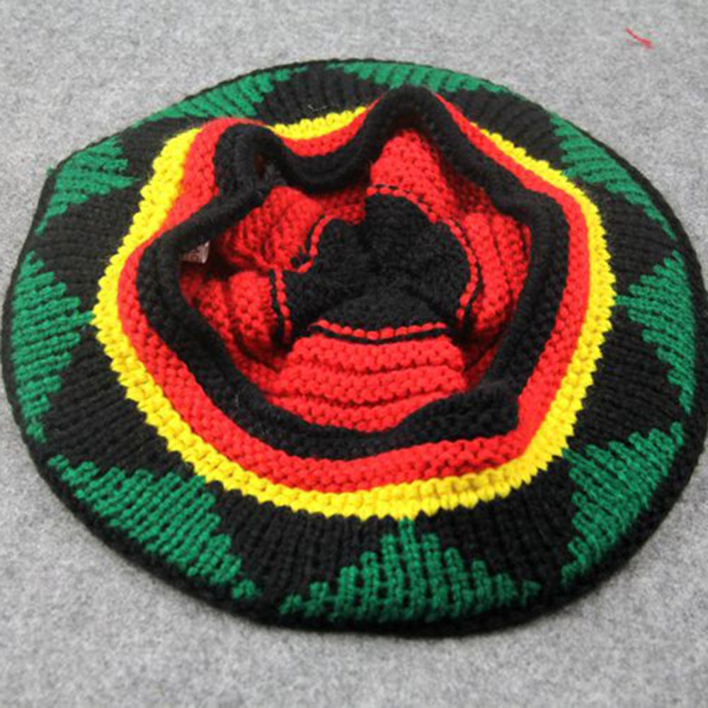 6470df0affb Winter Hip Hop Bob Jamaican cap Rasta Reggae Hat Multi colour Striped  Beanie Hats For Men Women new style Male Beanie Caps Gorro-in Skullies    Beanies from ...