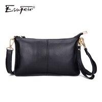 100% натуральная кожа Для женщин сумка известного бренда женская наплечная сумка клатч женская сумка через плечо для Для женщин 2018