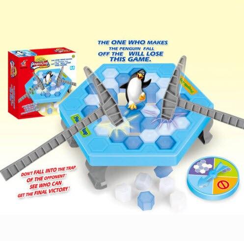 Ледокольной игры Пингвин ловушка активировать раннего образования Игрушечные лошадки партии игры подарки на день рождения настольные игр...
