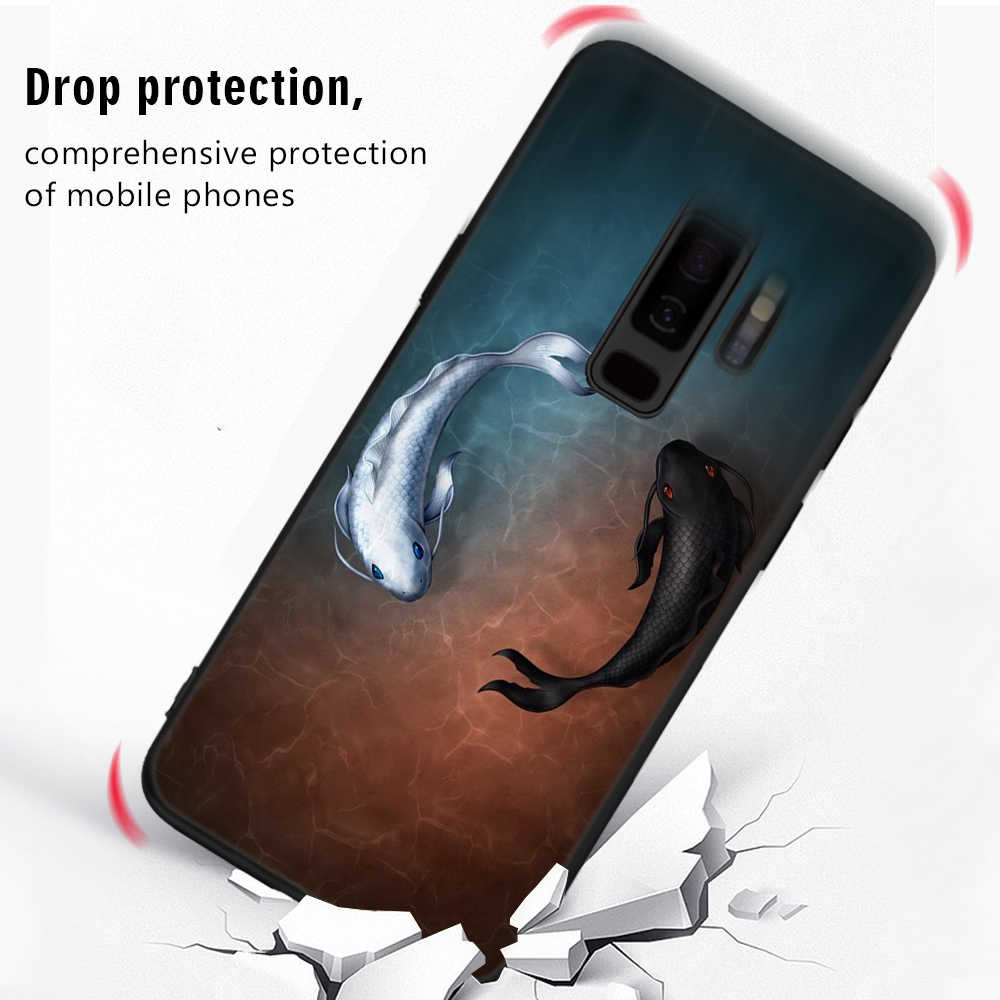 Patroon Case Voor Samsung Galaxy S9 S8 A8 Plus 2018 A5 A3 A7 J7 J5 J3 2017 2016 S9 S8 plus Note 8 S7 S6 Rand J2 Pro TPU Case Capa