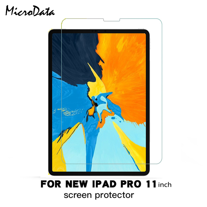 Tempered Glass For Apple iPad Pro 11 12.9 inch 2018 Tablet Screen Protector 9H Toughened Protective Film Guard Anti-ScratchTempered Glass For Apple iPad Pro 11 12.9 inch 2018 Tablet Screen Protector 9H Toughened Protective Film Guard Anti-Scratch