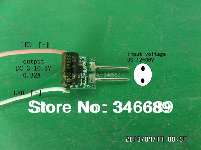 MR16 LED driver 12V 24V 5W 4W 3W 2W 1W 0.3A 300mA 1~5X1 QiHan spot light power supply lighting transformer QiHan