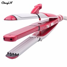 3-in-1 multifunctional Tourmaline ceramic hair straightener splint and Irons Curler Plate ,220V-240V Hair style tools HS45 47 Z
