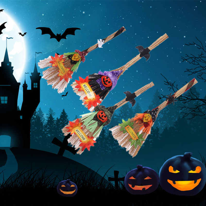Halloween Fantasy Witch Broom Witch Accessory Creeping Weed