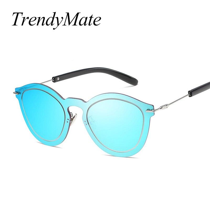 Fashion 2017 Women Rimless Sunglasses Female Original Brand Designer Elegant Sun glasses UV400 Gafas Ocuols Shield Eyewear 1169T