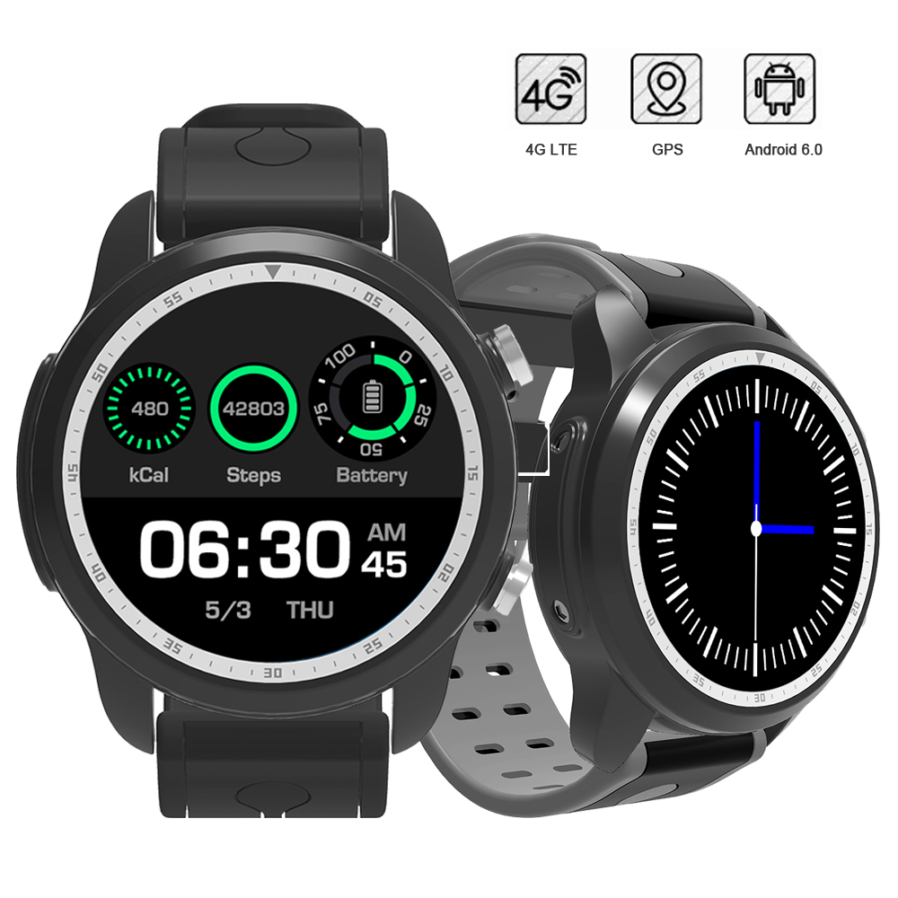 RUIJIE LTE 4G GPS Smart Watch Phone Android 6.0 MTK6737 1GB+16GB Bluetooth Smartwatch Support SIM Card WIFI Heart Rate VS KW88 maxinrytec 4g smart watch dm18 android 6 0 mtk6737 quad core 1gb 16gb gps wifi smartwatch phone heart rate sim card pk dm368 h5
