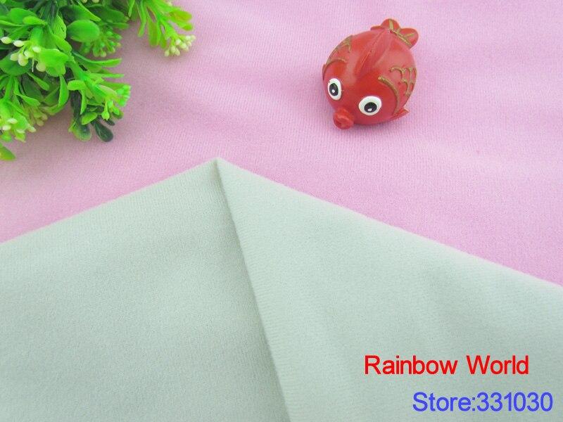 1 Meter 9197# Light Gray Adhesive Fastener Magic Sticker Fabric For Diy Patchwork Stuffed Toys Sofa Loop Fleece Velboa Velvet Home & Garden