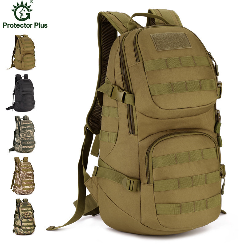 New 35L Waterproof Military Camouflage Backpack Casual Laptop Backpack Nylon Assault Backpack Travel Bag Y79 35l waterproof tactical backpack military multifunction high capacity hike camouflage travel backpack mochila molle system