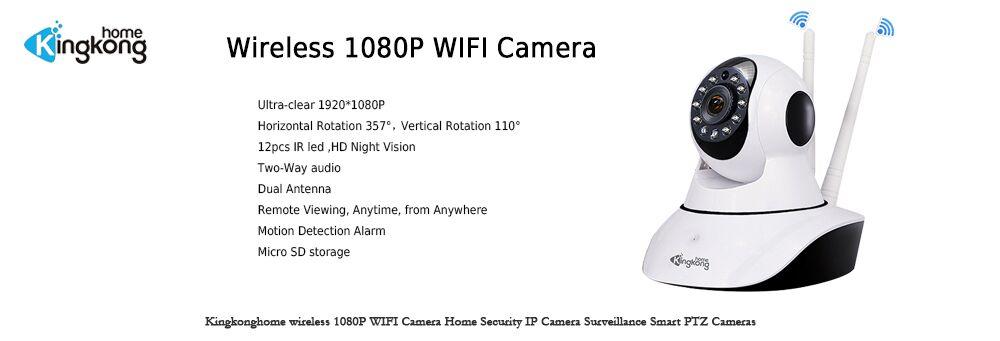 Kingkonghome 1080P IP Camera outdoor Surveillance with POE CCTV camera ip Security Network ONVIF Waterproof Bullet ip cam