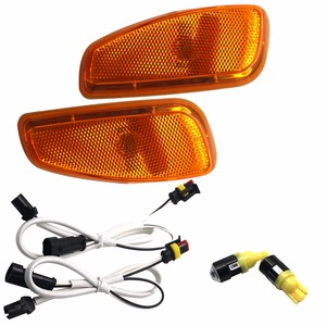 Image 2 - HJYUENG Turn Signal Head Light Side Lamp For 2015 2016 Jeep Renegade Accessories Side Reflection Warning Signal Light Cover