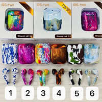 I9S TWS Earphone Wireless Bluetooth 5.0 Binaural Talking Painting Camouflage Earbuds Auto Pairing Siri For iPhone 7 8 X XS