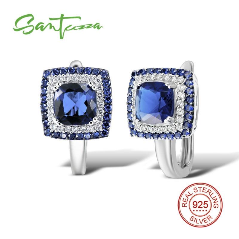 САНТУЗЗА сребрне минђуше за жене 925 - Модни накит