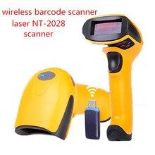 Беспроводные Сканеры штрих-Кодов лазерный NETUM-2028 высокочувствительный 433 МГц портативный сканер штрих-кода USB читатель мобильных платежей conmputers