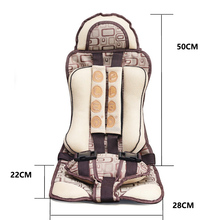 Blue Color Portable Baby Car Seats In The Car Thickening Sponge Child Car Safety Chair For 0-5 Year Old Babies — MKC029 PT49