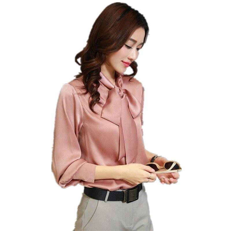 2017 printemps dentelle Top femmes Blouse en particulier femmes chemises à manches longues Cardigan rose chemise d'été hauts en lin soie Top femmes