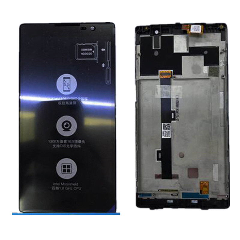For 5.5 Lenovo K80 K80M P90 LCD Display+Touch Screen Digitizer Assembly With FrameFor 5.5 Lenovo K80 K80M P90 LCD Display+Touch Screen Digitizer Assembly With Frame