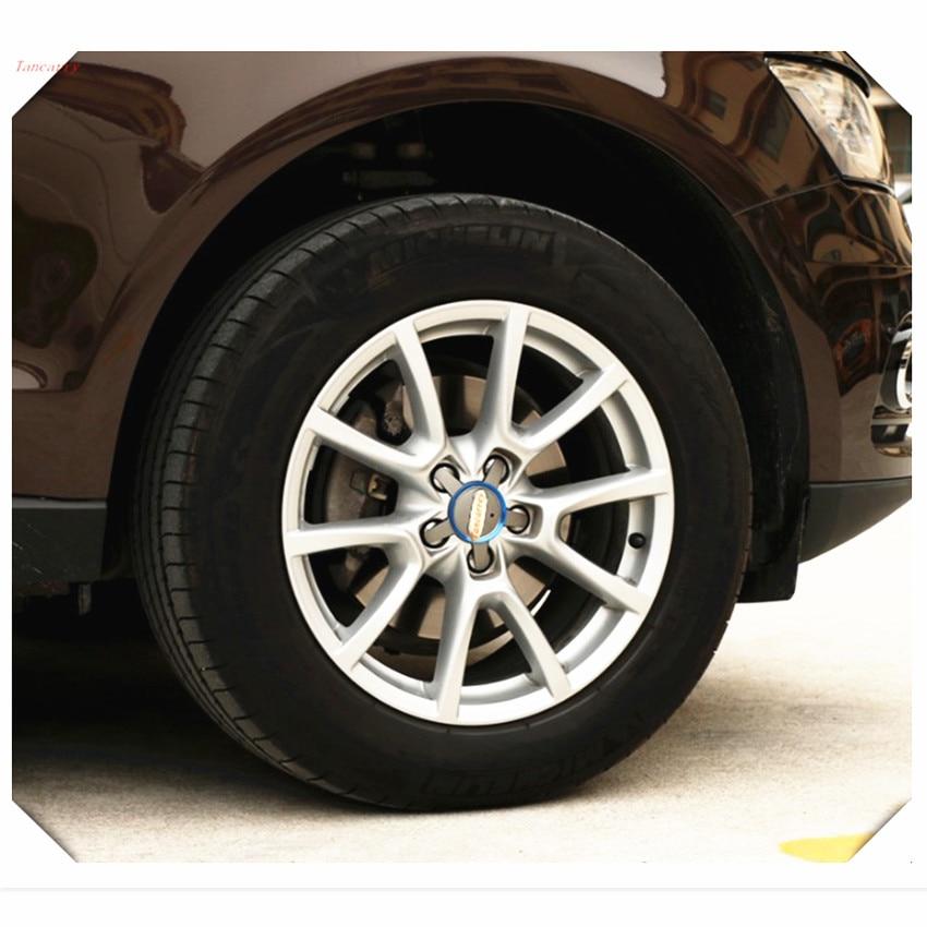 CAR wheels cartwheel circle cover trim FOR Nissan Qashqai Juke NV200 Note Pathfinder Leaf Tiida X-Trail almera car accessories