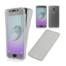 Ultra thin Transparent Soft GEL TPU Full Body Protective cover For Samsung Galaxy Grand prime A3 A5 J1 J3 J5 J7 2016 case Coque