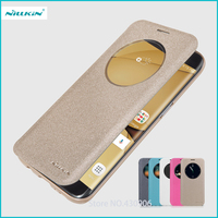 Nillkin For Samsung Galaxy S7 Edge G9350 Case Hight Quality Smart Leather Phone Case Sleep Function
