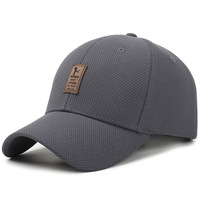 The Spring Mesh Baseball Cap Hat Youth Male Middle Aged Outdoor Travel Breathable Fashion Peaked Cap