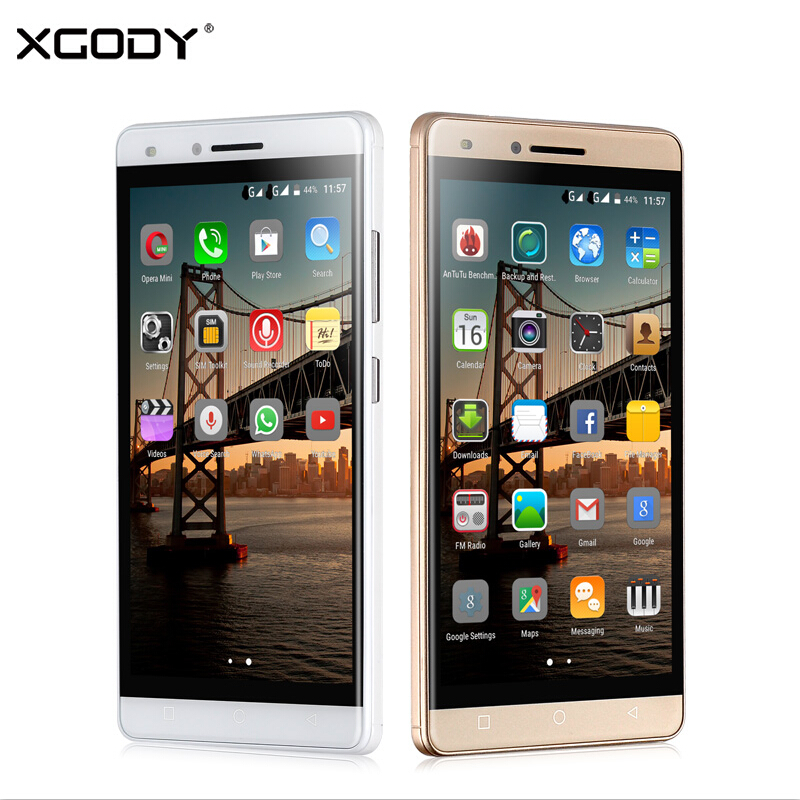 XGODY X11 5 0 Inch Mobile Phone MTK6580 Quad Core 512MB RAM 8GB ROM Android 5