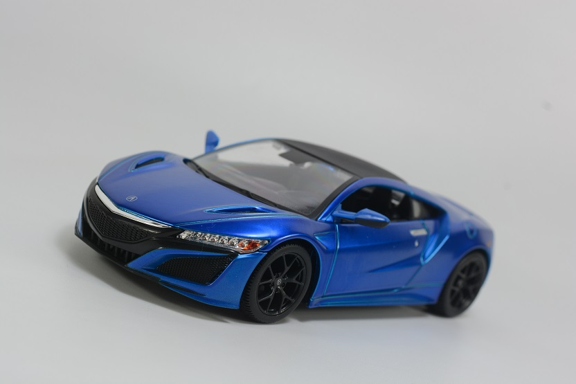 Maisto 1/24 Honda 2018 Acura NSX Diecast MODEL Racing Car NEW IN BOX 1 32 scale jada jdm tuners ford gt datsun 510 chevy pickup honda nsx mazda rx 7 nissan skyline gt r r35 diecast racing model toy