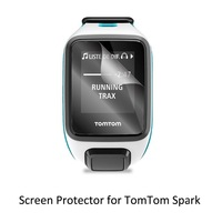 3pcs Clear LCD PET Film Anti-Scratch Screen Protector Cover for Tom Tom TomTom Spark / Spark Cradio / Runner 2 / Runner 3 Cradio