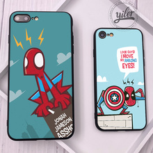 For Funda iPhone XS Max Case Spider-Man for Case iPhone 11 Pro Max 5S 6 7 8 Plus XR X Cases Cover se the Spider-Verse Case Cover spider man into the spider verse for funda iphone xs max case cover for case iphone 6s plus 5 5s se 6 7 8 plus xr x cases cover
