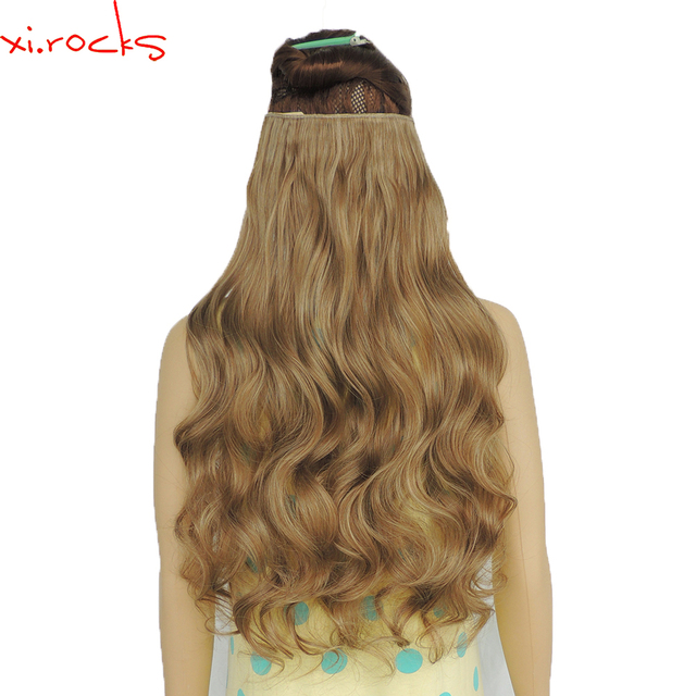 2 piece xicks 5 clip in hair extension 70cm synthetic hair rocks 5 clip in hair extension 70cm synthetic hair clips extensions 120g pmusecretfo Image collections