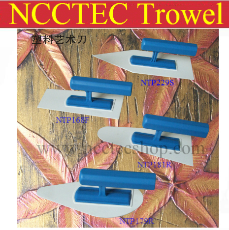 a package of plastic trowels FREE shipping Art paint batch font b knife b font plastering