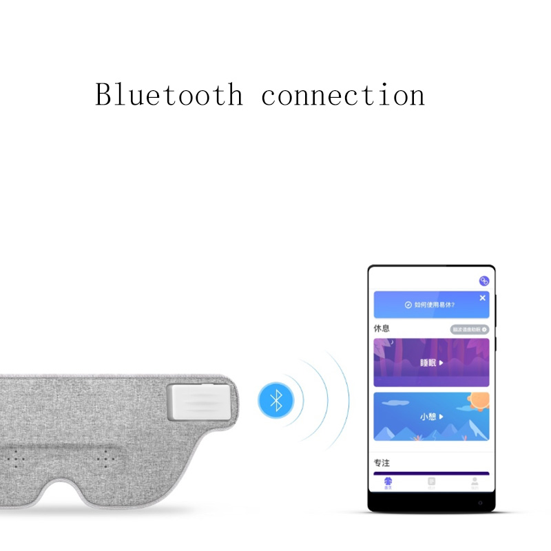d96acfeab6 Details about Xiaomi Mijia Air Brain Wave Sleeply Eye Mask Work Lunch Break  Travel Nap Bluetoo
