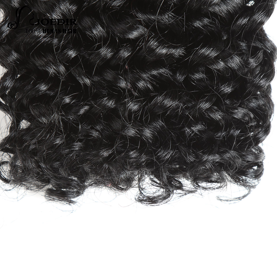 Joedir 3 Bundles Brazilian Jerry Curl Människohår 8 tum 100g 1 Pack - Skönhet och hälsa - Foto 5
