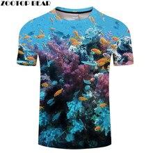 Seaworld tshirt das mulheres dos homens t camisa 3d peixe camiseta marca anime alta qualidade 6xl streetwear roupas curto navio da gota zootopbear