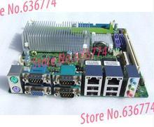 ms-9832 ATOM330 dual Gigabit Ethernet industrial motherboard ROS router firewall 3*COM